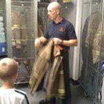 Fire Station Visit- 15th July