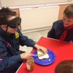 Blind Sandwich Making