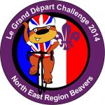 Beavers go French for the Regional Beaver badge